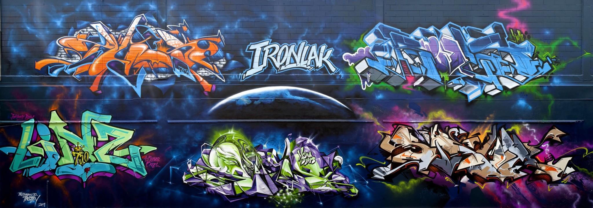 Graffiti wall cairns - More Info