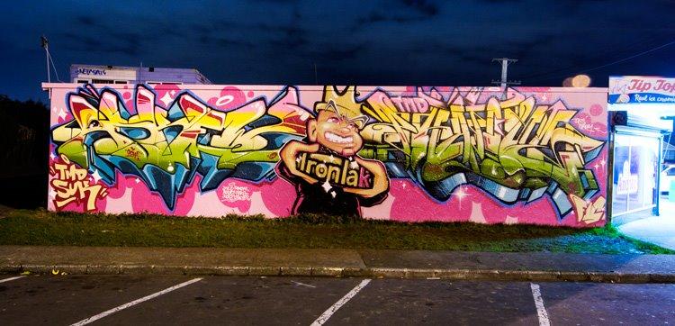 ASKEW, PHAT1, graffiti, Ironlak