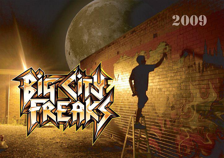 Big CIty Freaks, graffiti, Ironlak