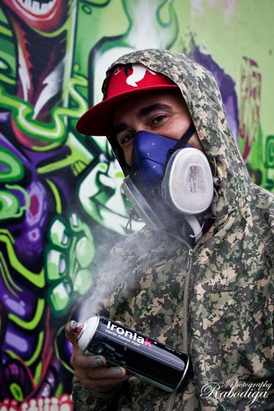 MRWANY, graffiti, Ironlak