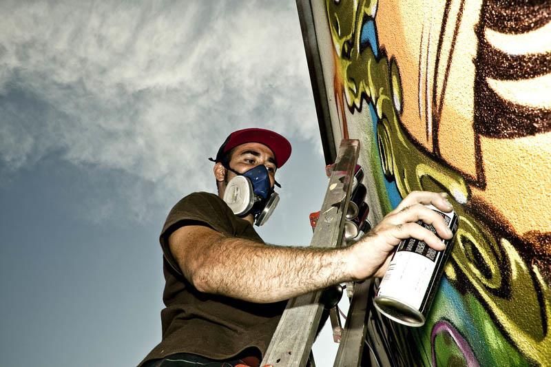 Mr. Wany, Milano, Selina Miles, Luke Shirlaw, graffiti, Ironlak