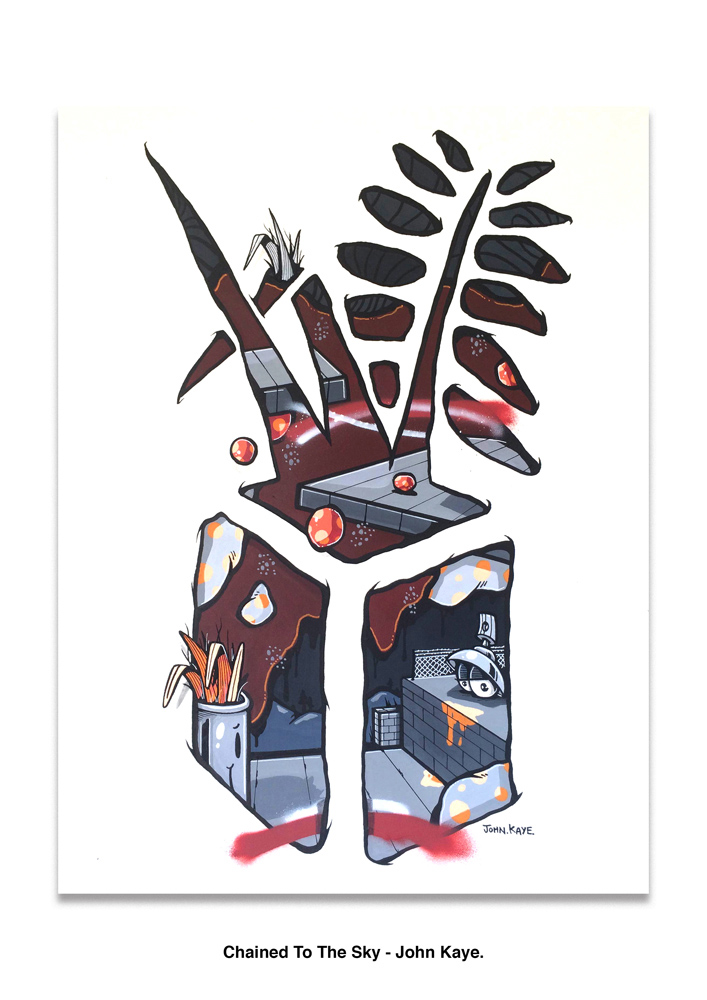 John Kaye, Artwork, Ironlak