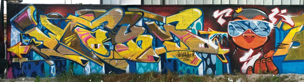 MR WANY IRONLAK GRAFFITI