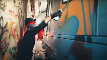 Against The Odds Kid Aero Friends Sydney Train Graffiti 2020