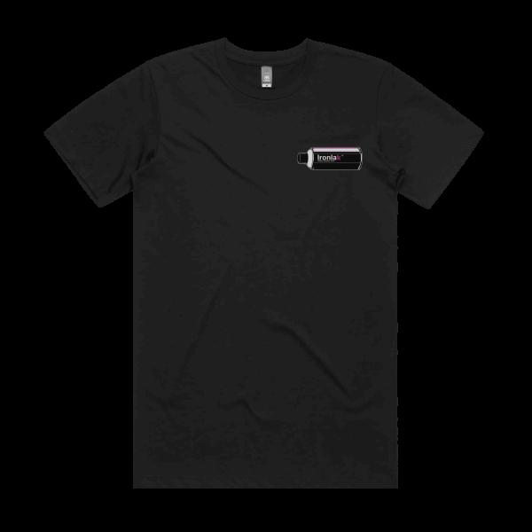 Ironlak Retro Can T-Shirt Black