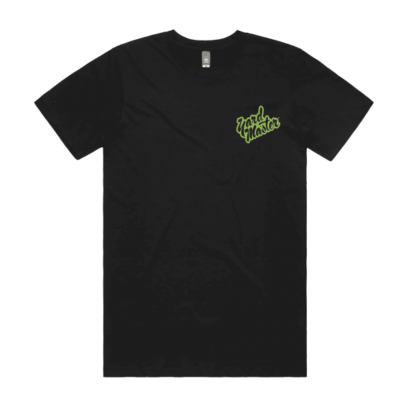 Yard Master Classics Jungle Green Logo T-Shirt Black