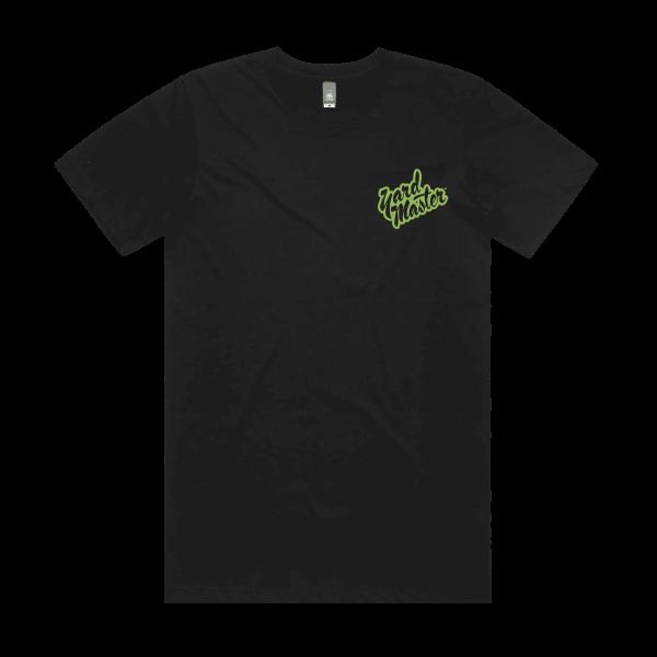 Yard Master Classics Jungle Green Logo T-Shirt Black