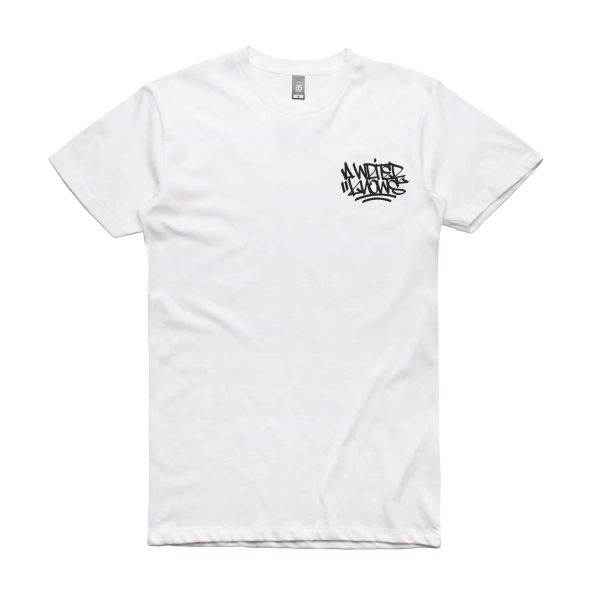 Ironlak A Writer Knows T-Shirt White