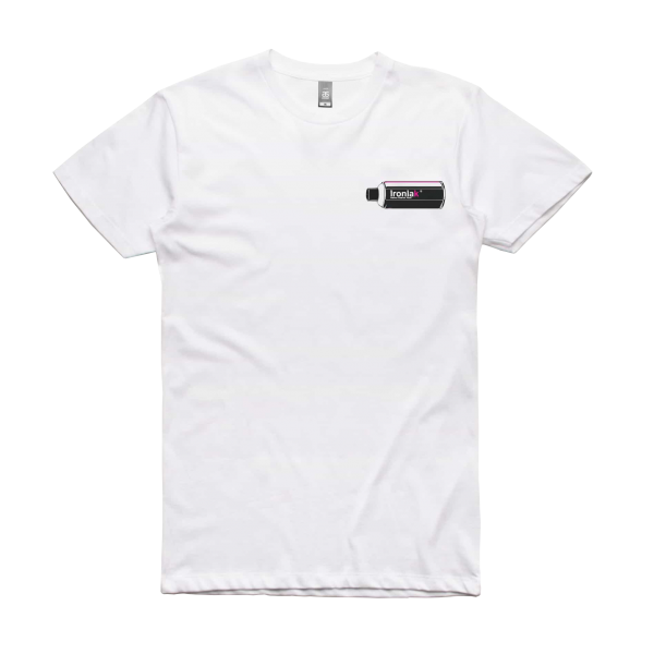Ironlak Retro Can T-Shirt White