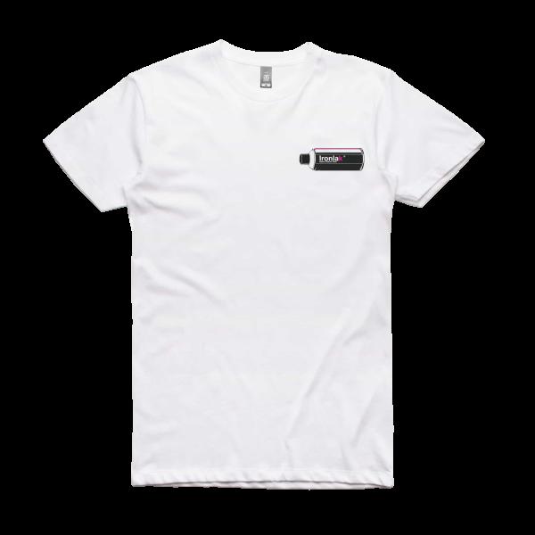 Ironlak Retro Can T-Shirt White