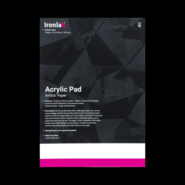 Ironlak Acrylic Pad