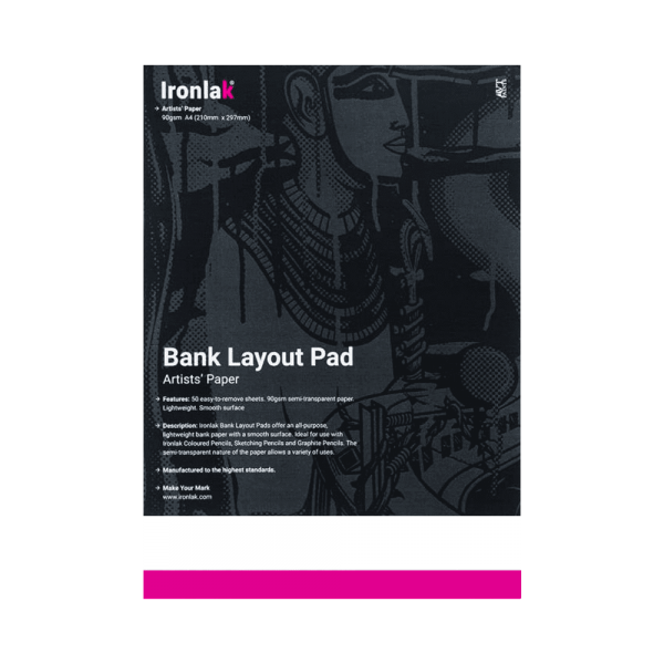 Ironlak Bank Layout Pad