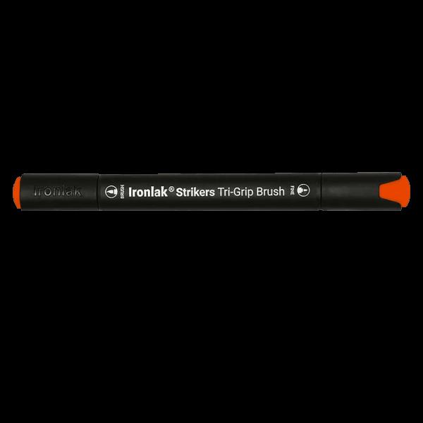 Ironlak Strikers Brush Tip Markers