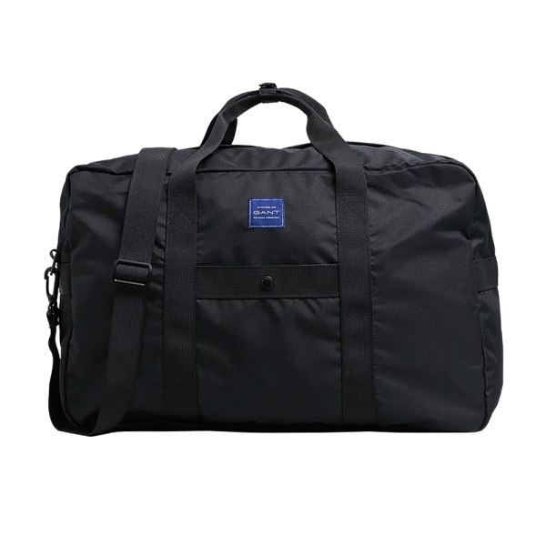 GANT Zip Fast Black Sports Bag