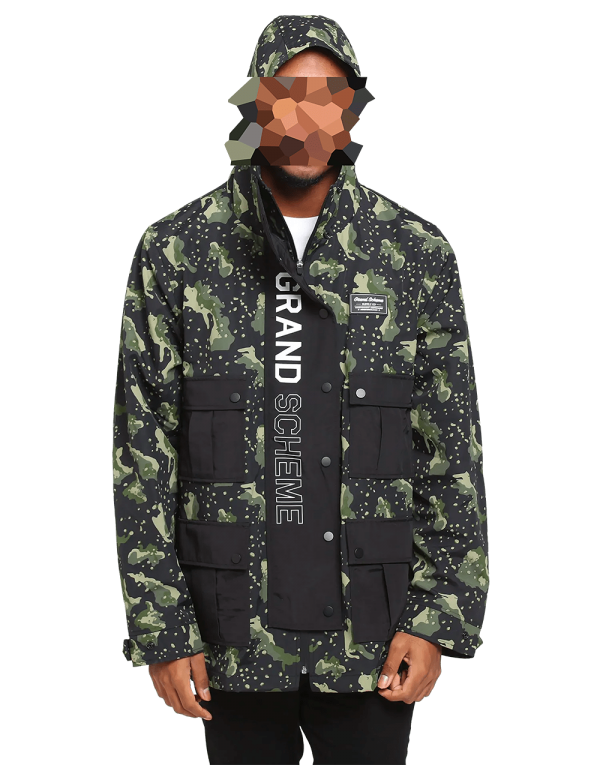 Grand Scheme Supply Co Undetectable Cargo Jacket