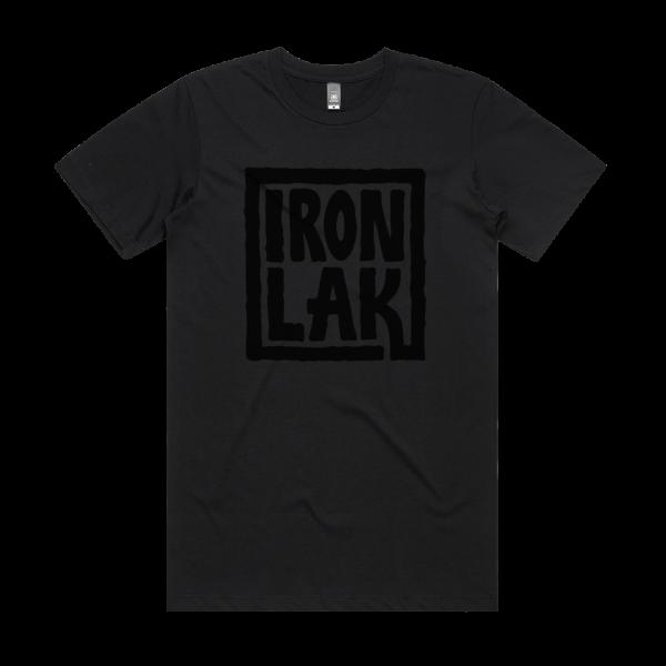 Ironlak Sauce Logo Roarke T-Shirt Black