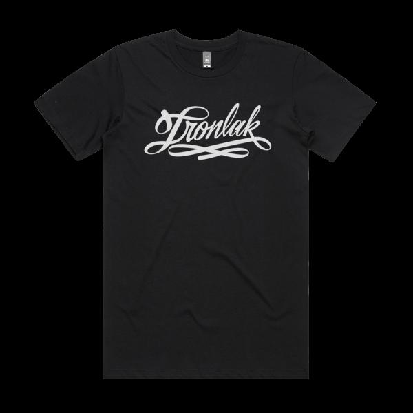 Ironlak Script Aspen T-Shirt Black