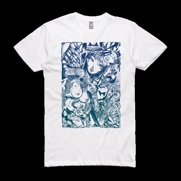 Sofles Girls Girls Girls II Pacific Neverland T-Shirt White