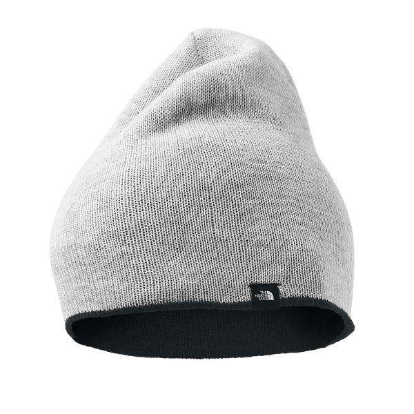THE NORTH FACE Marino Reversible Beanie 01 Light Grey Heather