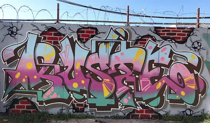RUSTE – 2020 Graffiti