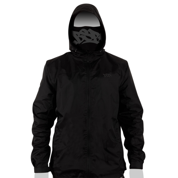 BSP STASH JACKET - BLACK 01