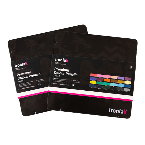 Ironlak Premium Colour Pencil Sets