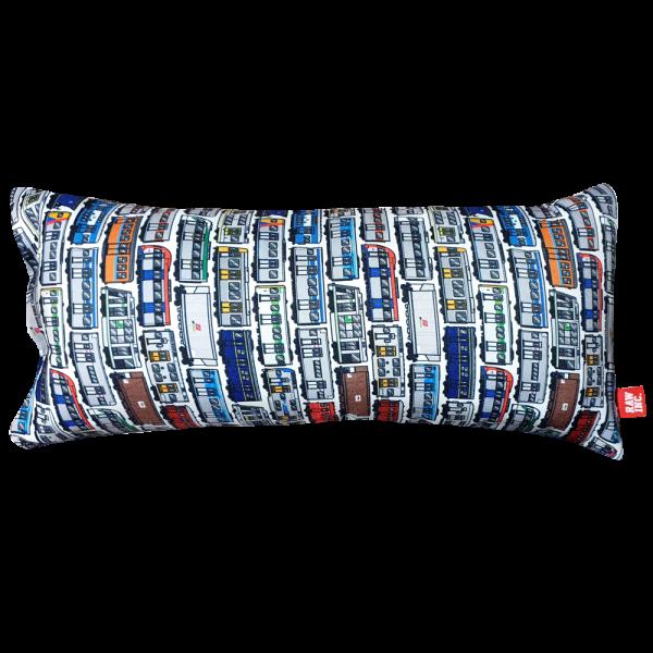Raw Inc Aussie Locos Train Large Skinny Cushion