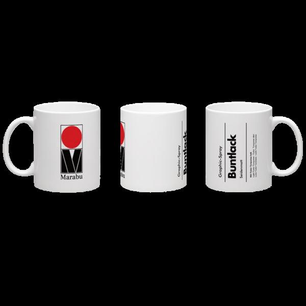Raw Inc Classic Buntlack Mug