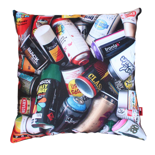 Raw Inc Classic Cans Cushion