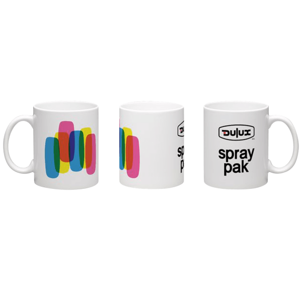 Raw Inc Classic Dulux Spray Pak Mug