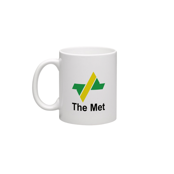 Raw Inc Classic VIC Railway The Met Mug
