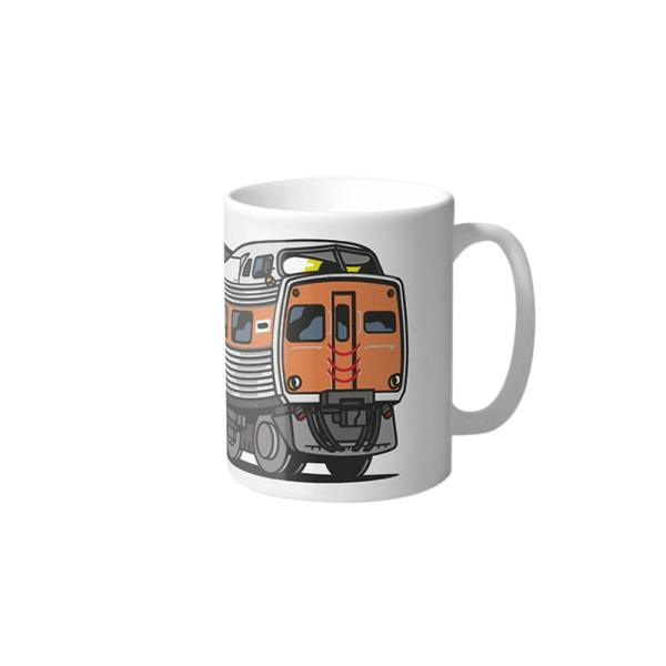 Vandals on Holidays Adelaide Jumbo Train Mug