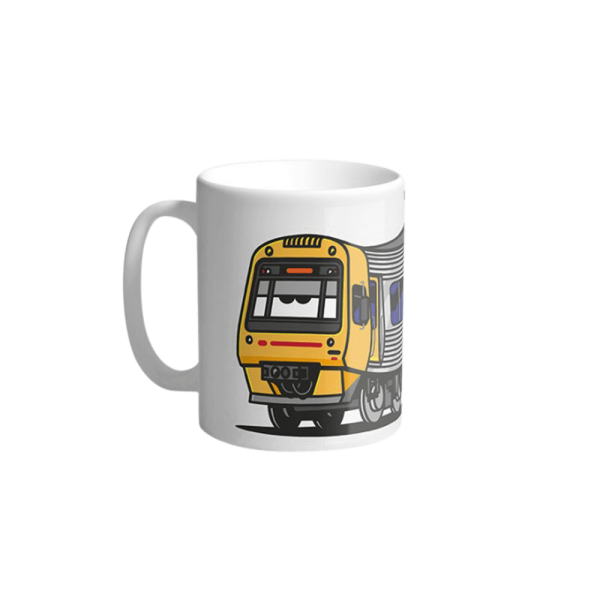 Vandals on Holidays Brisban City Train Mug
