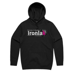 Ironlak Arrow Box Logo Hoodie
