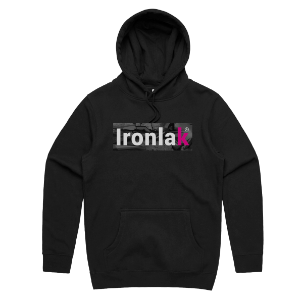Ironlak Arrow Box Logo Hoodie