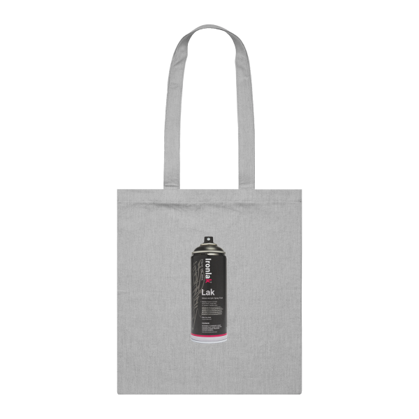 Ironlak Euro Lak 8 Can Tote Bag Grey Marle