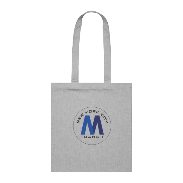SPRAYISM Classic New York City Metro 8 Can Tote Bag Grey Marle