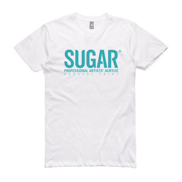 Sugar Full Coverafge T-Shirt White