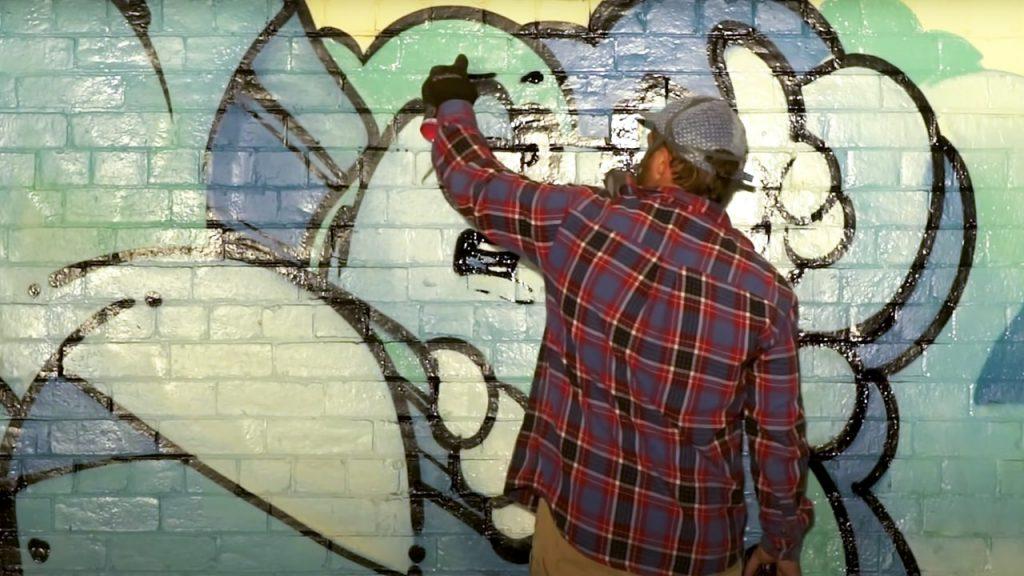 SOFLES Simple Graffiti Piece Video featuring Ironlak