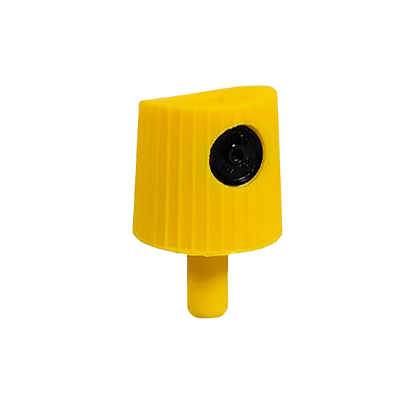 Yellow Lego Soft Spray Paint Cap Nozzle