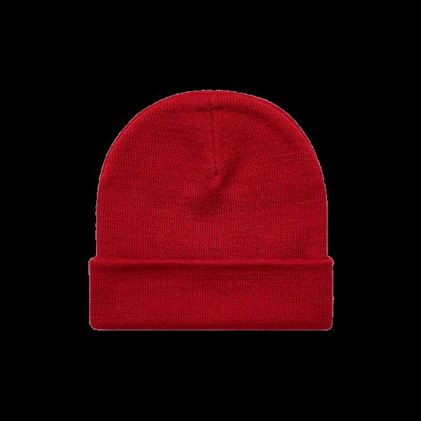 AS Colour Cuff Beanie - Cardinal