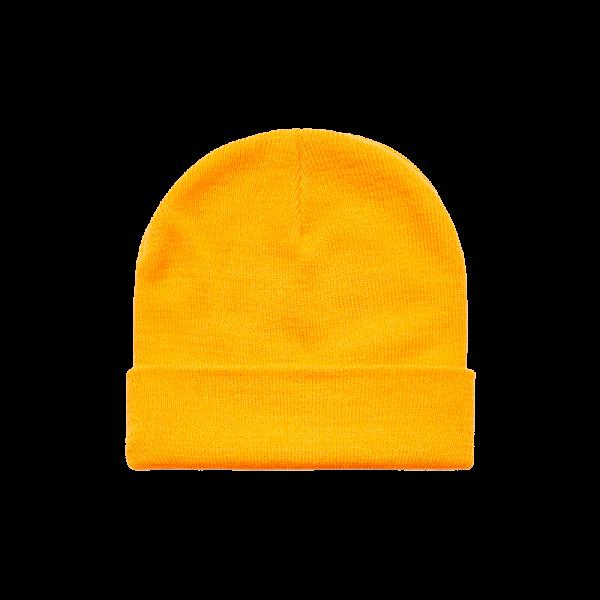 AS Colour Cuff Beanie - Gold