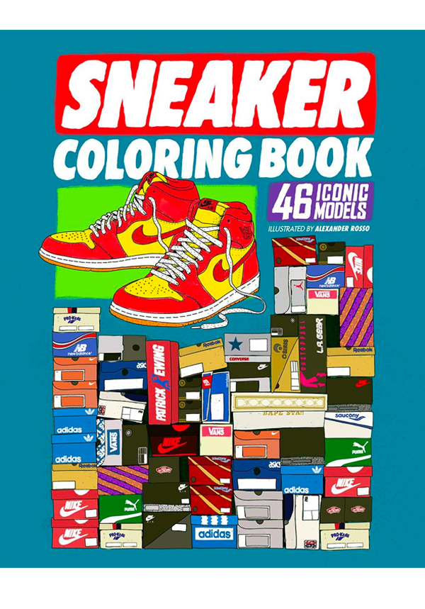 Sneaker Colouring Book 9789188369437 00