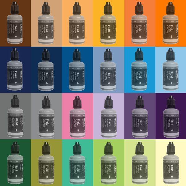 Ironlakl Fluid Acrylic 24 Pack