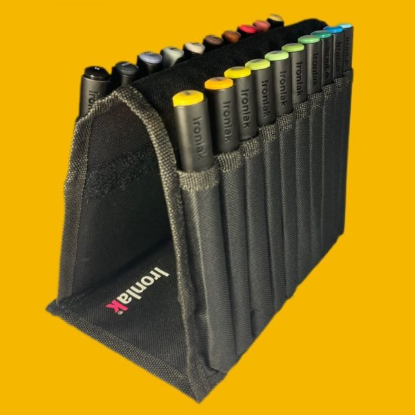 Secret Stock Clearance - Ironlak Striker Set of 20 Markers with Canvas Case