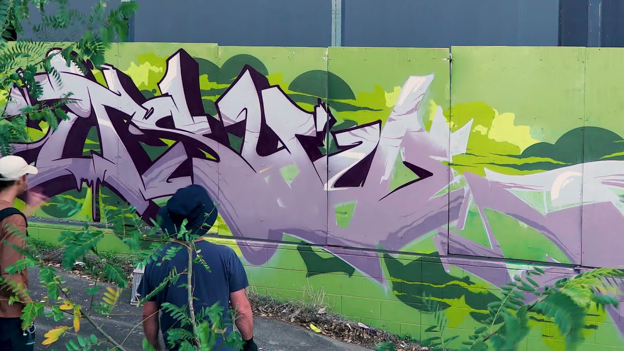 Tuesy and Sofles Same As It Ever Was Brisbane Graffiti 2021